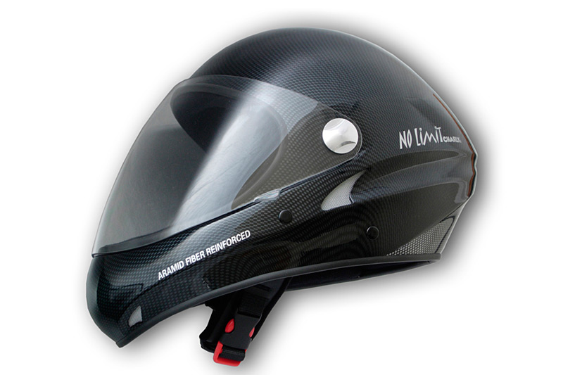 HHe32 No Limit carbon look with clear visor