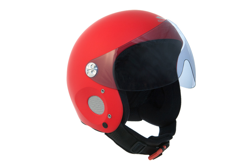 HHe5v Charly Ace red + HHe950 Visor grey