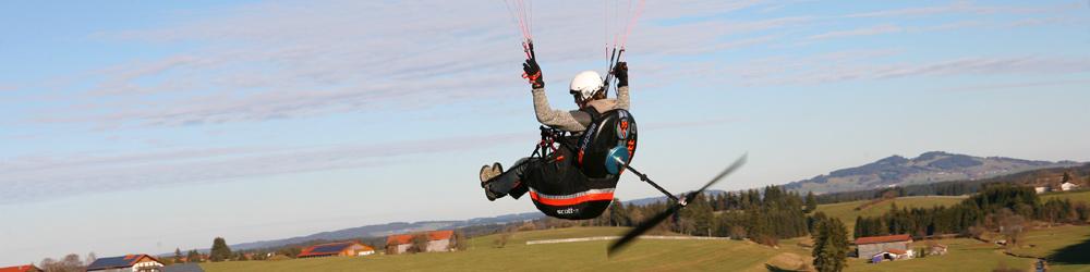 Paragliding Gadgets - Magazine cover
