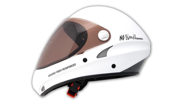 HHe30 No Limit weiß mit Visier getönt (HHe350)